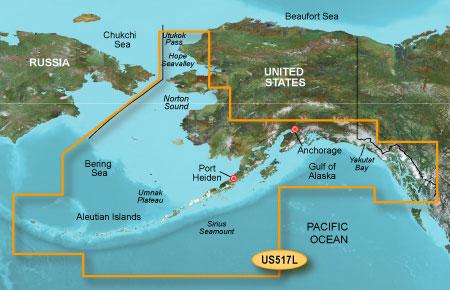 Bluechart g2 vision VUS517L Alaska South