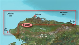 Bluechart g2 vision VUS035R North Slope Alaska