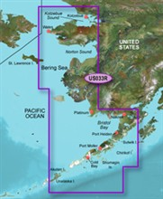 Garmin Alaska BlueChart Water Maps Bluechart g2 vision VUS033R Bristol Bay Kotzebue Snd