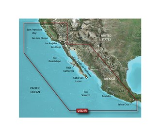 Bluechart g2 vision VUS021R California Mexico