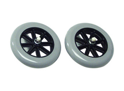 Accessories lumex fixed walker wheels