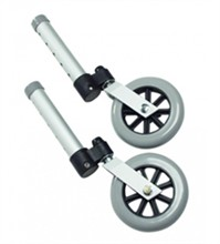 Accessories lumex swivel walker wheels