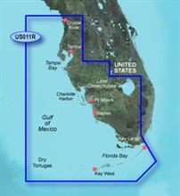 Garmin Gulf of Mexico BlueChart Water Maps Bluechart g2 vision VUS011R Southwest Florida