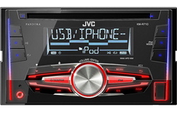Double DIN CD Receivers jvc mobile kwr710