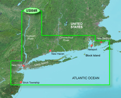 Garmin United States BlueChart Water Maps Bluechart g2 vision VUS004R New York