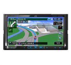 In dash GPS Navigations jvc kwnt810hdt