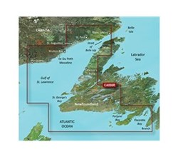 Garmin East Canada BlueChart Water Maps Bluechart g2 vision VCA013R Labrador Coast