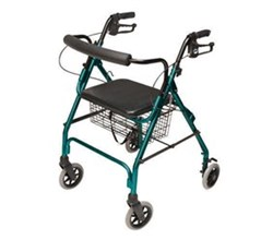 4 Wheel Rollators lumex walkabout lite rollator