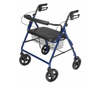 lumex walkabout imperial contoured rollator