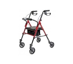 Rollators lumex set n go height adjustable rollator