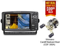 Humminbird Down Imaging 959ci HD DI Reel Combo