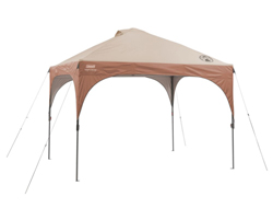 Coleman Canopies and Shelters coleman 10 ft 10 ft instant lighted canopy