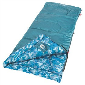 coleman sleeping bag youth 45d boys rect