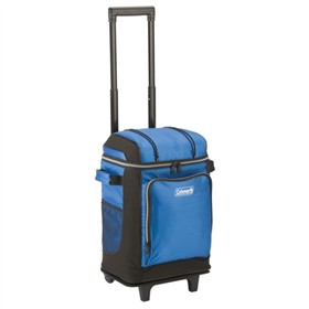 coleman soft cooler blue 42