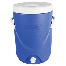 Coleman Coolers coleman cooler 5 gal bev blue