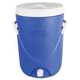 coleman cooler 5 gal bev blue