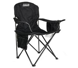 Coleman Chairs coleman oversized quad chair with cooler