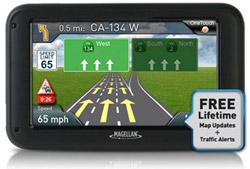 OneTouch Favorites Menu magellan roadmate 5270t lmb