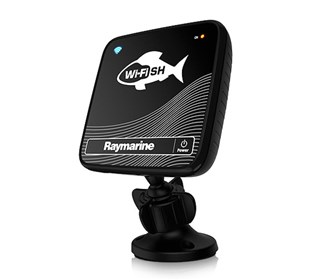 raymarine wi fish chirp downvision sonar with transom mount