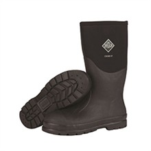 Muck Boots Work muck boots mens chore hi steel toe black