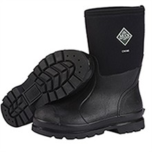 Muck Boots Mens Work Boots unisex chore mid black