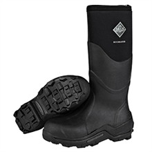 Black Muck Boots the muck boot company unisex muckmaster hi black