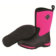 Muck Boots Womens Womens Arctic Weekend Black/Hot Pink