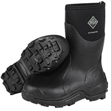 Black Muck Boots the muck boot company unisex muckmaster mid black