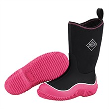 Girls Muck Boots Kids Kids Hale Black/Pink