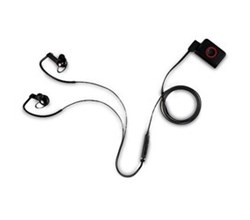 Bluetooth lg heart rate monitor earphone