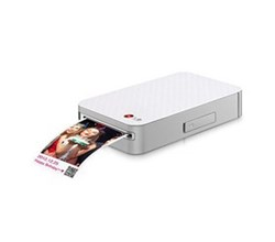 Bluetooth lg pocket photo printer