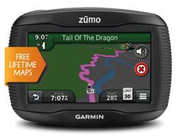 Motorcycle GPS garmin zumo350lm