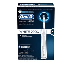 Oral B ProfessionalCare Series oral b precision 7000 white bluetooth