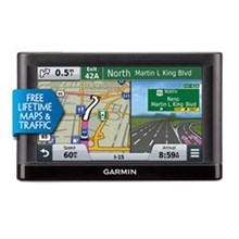 Garmin GPS with Lifetime Maps and Traffic Updates garmin nuvi55lmt