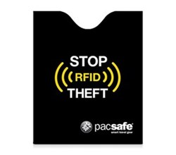 Pacsafe RFIDsafe Passport Protectors pacsafe rfidsleeve 50 black