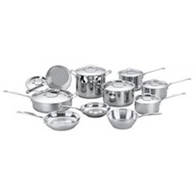 Cuisinart Stainless Steel Cooking Sets Cuisinart 77 17