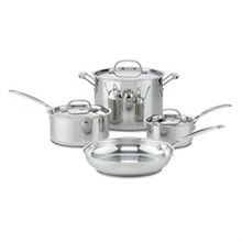 Cuisinart Stainless Steel Cooking Sets cuisinart 77 7
