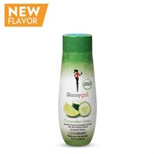 SodaStream specialty Drink Mix Flavors sodastream skinnygirl cucumber lime sodamix