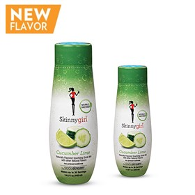 sodastream skinnygirl cucumber lime sodamix