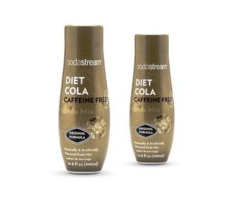 sodastream cola caffeine free sodamix 2 pack