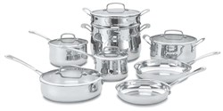Cuisinart Stainless Steel Cooking Sets cuisinart 44 13