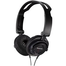 Panasonic Foldable Headphones panasonic rp djs150m k