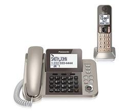 Panasonic Single Line Cordless Phones 2 Handsets panasonic kx tgf350n