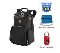 Travelpro Under 20 inch Backpacks travelpro pm2 check point friendly business backpack