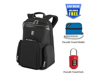 travelpro pm2 check point friendly business backpack