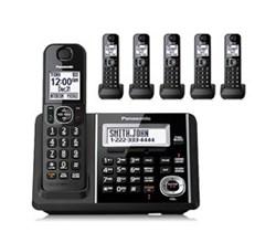 Panasonic 6 Handsets Panasonic kx tgf346b
