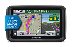 Garmin GPS with Lifetime Maps and Traffic Updates garmin dezl 570lmt