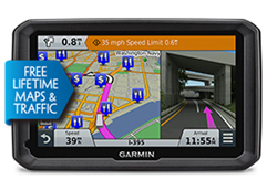 Garmin GPS with Lifetime Maps and Traffic Updates garmin dezl 770lmthd