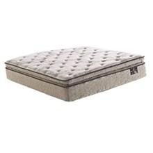 Serta Queen Size Plush Pillow Top Mattress Only edgeburry spt mattress