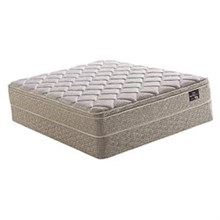 Serta King Size Luxury Firm Mattress and Boxspring Sets ingram euro set